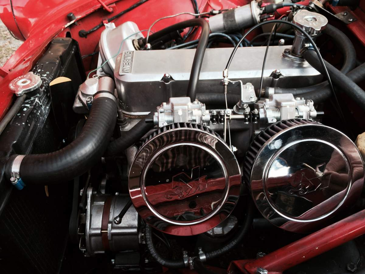 On 2/24/2016 4:19 PM, Ron Miller wrote regarding his Spitfire 1500 single carb  installation: